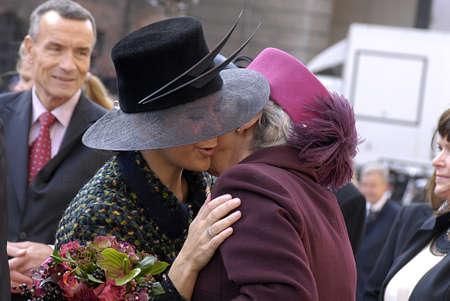 frederik: DENMARK  COPENHAGEN .Danish royal family H.M.the Queen Margrethe II ,her husband prince Henrik of Denmark,Cornw prince frederik and Crown princess Mary ,Prince joachim and princess Marie and queen sister princess Benedikte arrives at opening of danish po