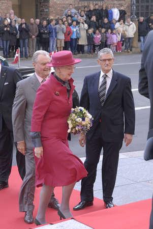 DENMARK  COPENHAGEN .Danish royal family H.M.the Queen Margrethe II ,her husband prince Henrik of Denmark,Cornw prince frederik and Crown princess Mary ,Prince joachim and princess Marie and queen sister princess Benedikte arrives at opening of danish po
