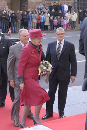 DENMARK  COPENHAGEN .Danish royal family H.M.the Queen Margrethe II ,her husband prince Henrik of Denmark,Cornw prince frederik and Crown princess Mary ,Prince joachim and princess Marie and queen sister princess Benedikte arrives at opening of danish po