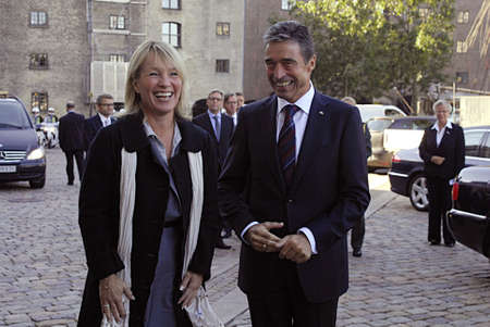 danish prime minister: DENMARK  COPENHAGEN .  Anders Fogh Rasmussen Natos Secretary Geeneral on his first official visit to his native lannd Denmark,former prime minister of Denmark visits Danish minister for foreign affairs MS Lene Espersen today tuesday 31 August 2010