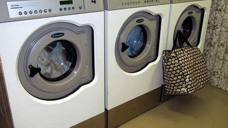Laundry room: KASTRUPCOPENHAGENDENMARK _  Washing machines in Laundry room 8 October 2010