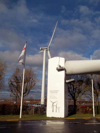 vestas: DENMARK  COPENHAGEN . Vestas turbines  Bella center 6 Nov. 2010
