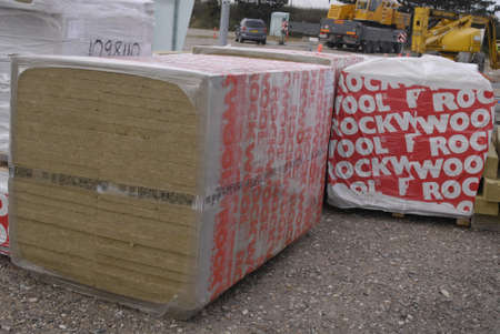 rockwool: DENMARK  COPENHAGEN . Rockwool for isolation House and office and villas from cold winter 17 Nov. 2010