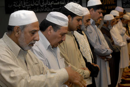 pakistani food: DENMARK _ COPENHAGEN . Pakistani danish and immigrant communcite celevbrate first day of ramadan ,end fasting fist day at evening food or iftari  get to gether in Aamager Mosque prayer was leads by new Imam Hafiz Noor Ali Mirza (Imam islamic culture cente Editorial
