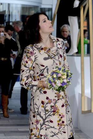 corona de princesa: Princesa Mary visite CIFF-Copenhague internacional moda justa (Copenhague la semana de la moda) y visita la exposici�n de la piel Kopenhagen y visitar es Bella Ceneter Copenhague Dinamarca el 11 de febrero de 2007       Editorial