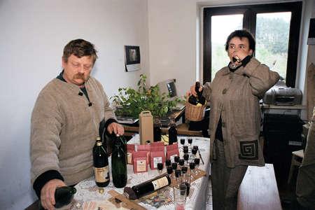 francis dean: May 17,2004 ,Lewin Lewin Klodzki,Polish Couple grow Orgenic liqour. Editorial