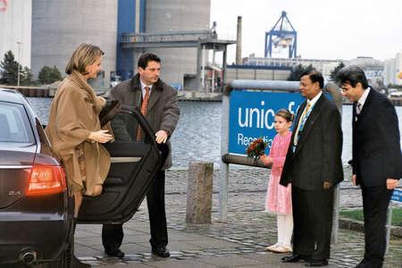 unicef: Danimarca  COPENHAGEN .Princess Matilde del Belgio visite Unicef sede e magazzino su dicembre 7, 2004      Editoriali