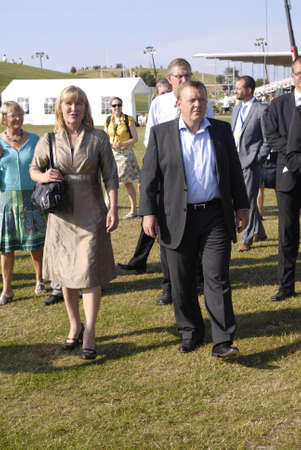 danish prime minister: DENMRK_ HALBAEK(HOLBÆK)        H.M.the Queen Margrethe II and Prince Henrik  were royal guest at Denmarks national Gymistic sport event at Holbaek city Danish prime minister open official this Holbeak national event there are few other nations like birtis Editorial