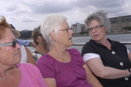 eldlery: K�BENHAVNCOPENHAGENDANMARK DENMARK. Danish senior citizen females  6 July 2009