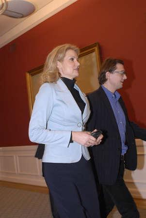 democrat party: DENMARK  COPENHAGEN .MS.Helle Thorning-Schmidt leader of social democrat party of Denmark  14 Jan 2011