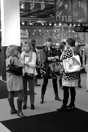 billions: DENMARK  COPENHAGEN Danish textile industry made good in finance world crisis ,danish textile industry made 20 Billions danish korners and USD 6 billions years 2010 .Shoppers are buying and looking at various textile stand at CIFF Copenhagen Internationa Editorial
