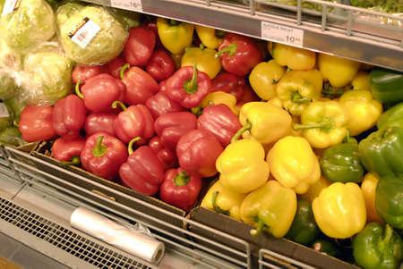 15 18: KASTRUPCOPENHAGENDENMARK _Vegetable and fruit shoppers 15 percent high food furit and vegetable ood prices superbrugsen food super maket ,danish wages are  still same as usual  ,18 Feb. 2011