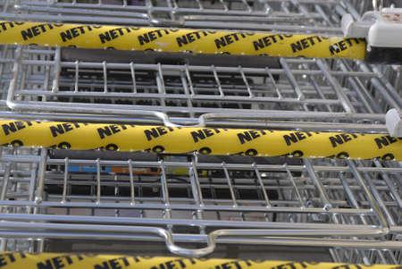 food chain: KASTRUPCOPENHAGENDENMARK _   NETTO danish discount food chain  24 Feb. 2011
