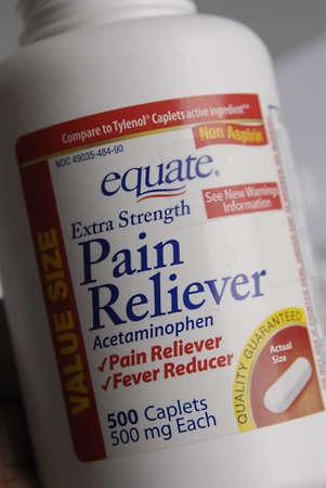 strenght: DENMARK  COPENHAGEN _   Non Aspirin equate exstra strenght pain reliever caplets      Editorial