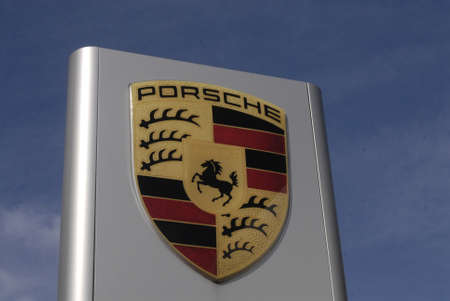 luxery: DENMARK  COPENHAGEN _   Gmerna Porsche Auto dealer  head showroom 23 March 2011