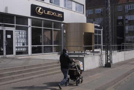 lexus auto: DENMARK  COPENHAGEN _ Lexus auto showroom 23 March 2011