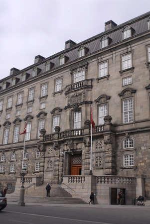 travler: DENMARK  COPENHAGEN _ Christiansborb danish parliament building called folketinget 29 March 2011