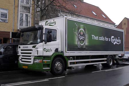carlsberg: DENMARK  COPENHAGEN _   Carlsberg beer delivery orry 5 April 2011