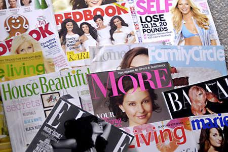 LEWISTON/IDAHO STATE /USA _ Amerian female magazine  florishing 5 May 2011