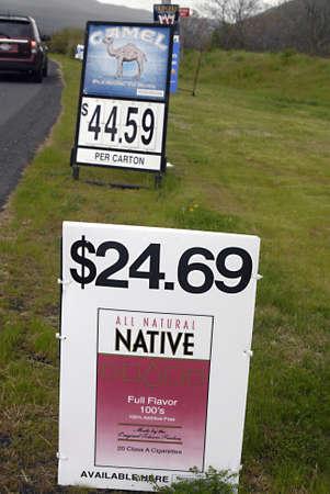 natureal: NEZ PERCE AMERICAN NATIVE IDAHO stato sServerName _ tutti natureal nativo e Carmelo cigrette cartellone sul territorio nativo americano Nez Perce in Idaho State 7 maggio 2011