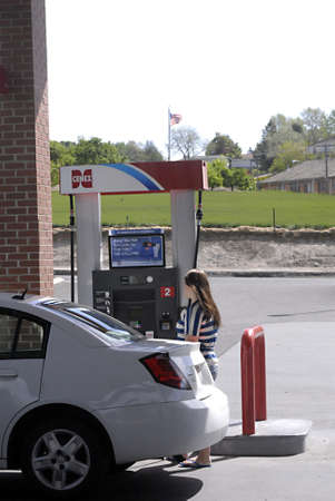 LEWISTONIDAHO STATE USA _ Gas high price in Lewiston idaho state usa 14 May 2011  Editorial