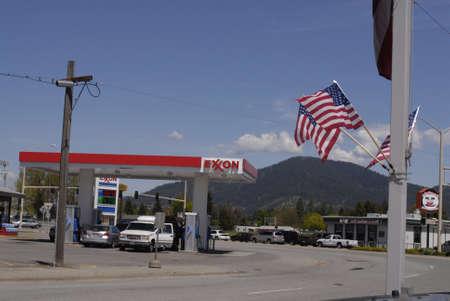 SPOKANE  / WASHINGTON STATE STATE /USA _Rising gas prices in United States 19 May 2011