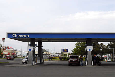 OTHELO AND COLFAX / WASHINGTON STATE STATE /USA _  Rising gasoline prices in various gas station in various state  23 May 2011   Stock Photo - 9577097