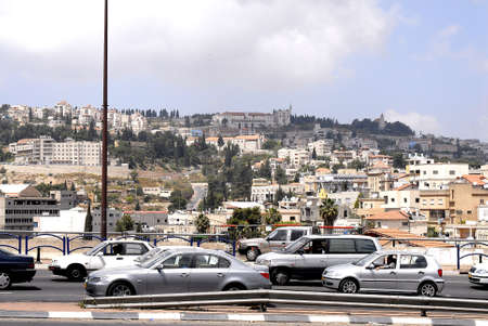holy land Nazarethe city view IN NAZARETHE ISRAEL MAY 82006