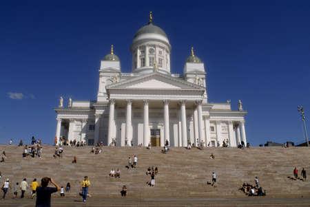 polictis: HELSINKI FINLAND _Helsinki cathdreal   3 August 2011