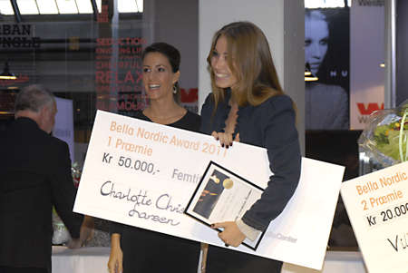 DENMARK  COPENHAGEN _H.R.H Princess Marie of Denmark (married to prince Jaochim) she is with child due in jan 2012,non can see at her belly yet, Princess Marie her offical event at Bella Center, Presetatiion of   Bella Nordic Jewellery Award 2011, prince