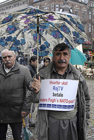 DENMARK_COPENHAGEN kudish TV Roj in danish court ,Kurds sings,dance and rpoest against court and turkey states .Kurdish immigrant living in Denmark staged protest rally against Turkey treating their fellow member comnmunity and family members and against