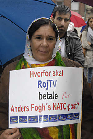 roj: DENMARK_COPENHAGEN kudish TV Roj in danish court ,Kurds sings,dance and rpoest against court and turkey states .Kurdish immigrant living in Denmark staged protest rally against Turkey treating their fellow member comnmunity and family members and against