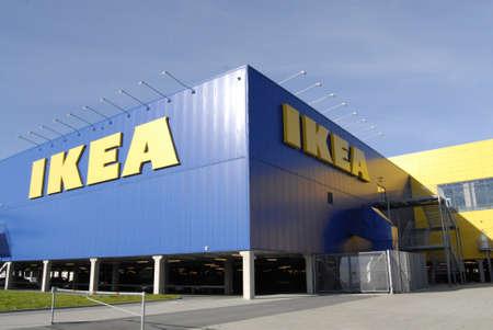 SWEDEN  MALMO _   Swedish Ikea chain mega store 15 Oct. 2011       Editorial