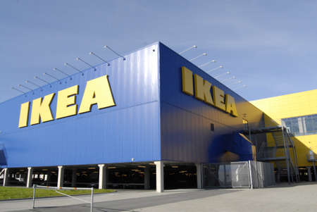SWEDEN  MALMO _   Swedish Ikea chain mega store 15 Oct. 2011       Editorial