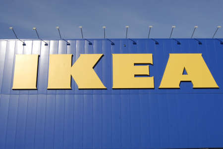 SWEDEN / MALMO _   Swedish Ikea chain mega store 15 Oct. 2011      Stock Photo - 10887762