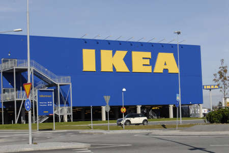 SWEDEN / MALMO _   Swedish Ikea chain mega store 15 Oct. 2011     Stock Photo - 10888010