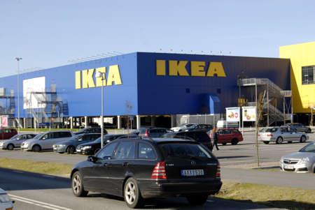 SWEDEN / MALMO _   Swedish Ikea chain mega store 15 Oct. 2011     Stock Photo - 10888009