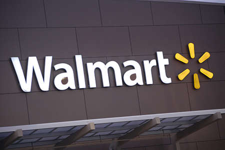 USA/WASHINTON STATE/ CLARKSTON_  Walmart ( Wal-mart) super store 5 Dec. 2011     Stock Photo - 11379151