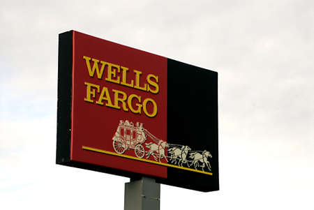 polictics: USAIDAHO STATE LEWISTON _  Wells Fargo bank commercial with logo 5 Dec. 2011      Editorial