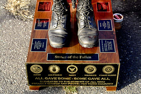 f 15: USAIDAHO STATE LEWISTON _ Remember Pearl Habor december 7, 1941 USS Oklahoma 70th Anniversry memorial ceremony 11.00 am present color fairchild afb color guard national anthem lhs gold voices-mr gemberling fly over F15s mountain home afb 366 fighter wi