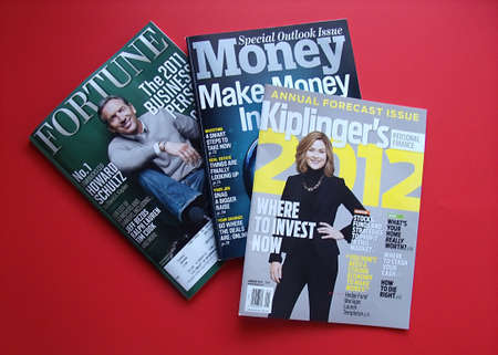 USAIDAHO STATE LEWISTON _ American three finance news magazine ,Fortune,money and Kliplinger's 8 Dec. 2011