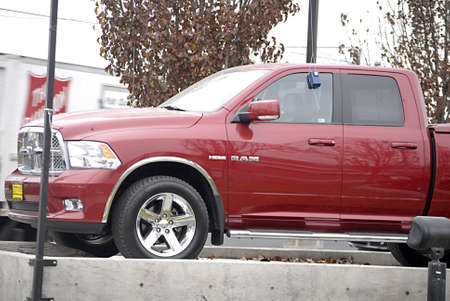 polictics: USAIDAHO STATE LEWISTON _ American doge pick up auto 12 Dec. 2011