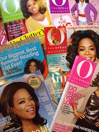 USA/IDAHO STATE/ LEWISTON _ Oprah Winrey magazine 13 Dec. 2011