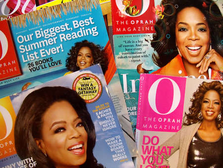 USAIDAHO STATE LEWISTON _ Oprah Winrey magazine 13 Dec. 2011        Editorial