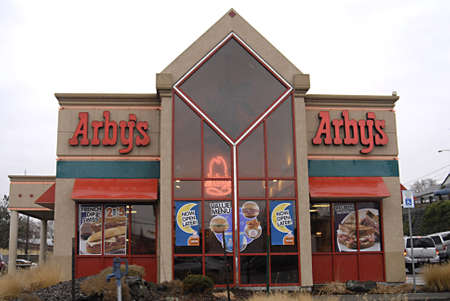 polictics: USAIDAHO STATE LEWISTON _  Arbys fast food restaurant  28 Dec. 2011
