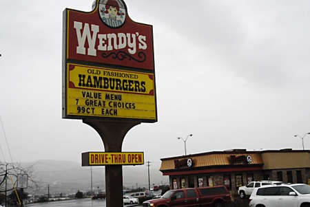 polictics: USAIDAHO STATE LEWISTON _Wenndys burger fast restaurant chain was started by Dave Thomas  over 6.600 restaurant aroudn the world 28 Dec. 2011