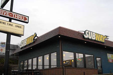 polictics: USAIDAHO STATE LEWISTON _ Subway fast food chain restaurant 28 Dec. 2011