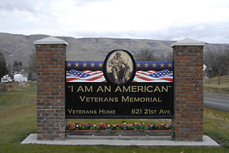 polictics: USAIDAHO STATE LEWISTON _  Idaho States Veterans home I am american and american hero and veterans memorial Lewiston building 28 Dec. 2011