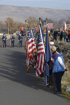 aging american: USAIDAHO STATE LEWISTON _ Remember Pearl Habor december 7, 1941 USS Oklahoma 70th Anniversry memorial ceremony 11.00 am present color fairchild afb color guard national anthem lhs gold voices-mr gemberling fly over F15s mountain home afb 366 fighter wi