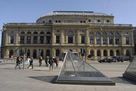 det: COPENHAGENDENMARK _ Royal theater ( det kongelig teater) building 19 Marchi 2012